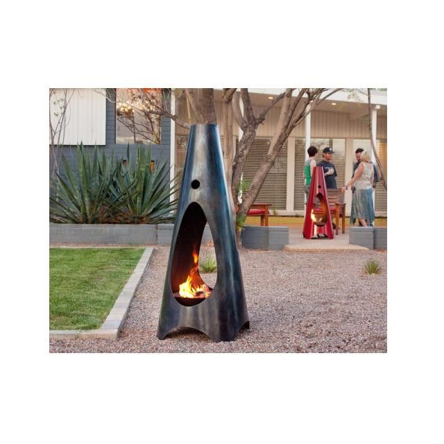 Modfire Urbanfire Outdoor Fireplace   Wood Burning