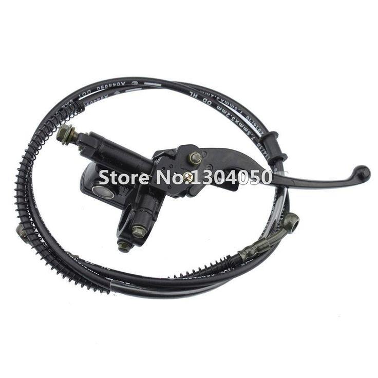 $24.99 (Buy here: https://alitems.com/g/1e8d114494ebda23ff8b16525dc3e8/?i=5&ulp=https%3A%2F%2Fwww.aliexpress.com%2Fitem%2FGOOFIT-Left-Brake-Lever-Handle-50cc-70cc-90cc-110cc-125cc-150cc-ATV-Quad-Chinese%2F32394263630.html ) Hydraulic Brake Master Cylinder Left Lever Handle Oil Tubing Assembly Chinese 50 70 90 110 125 150 cc ATV Quad for just $24.99