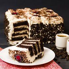 Μια εντυπωσιακή σπιτική τούρτα με έντονη γεύση καφέ που θα λατρέψετε όπως κι εγώ άλλωστε από την πρώτη στιγμή που την δοκίμασα