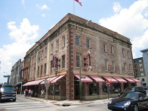 Paula Dean's restaurant in Savannah. Worth the wait.