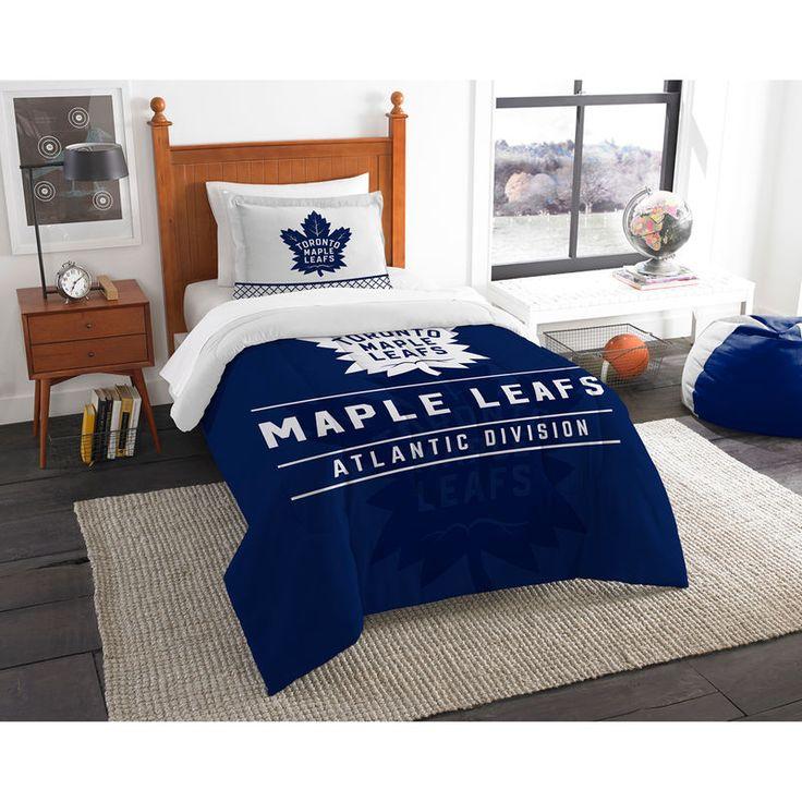 Toronto Maple Leafs The Northwest Company NHL Draft Twin Comforter Set