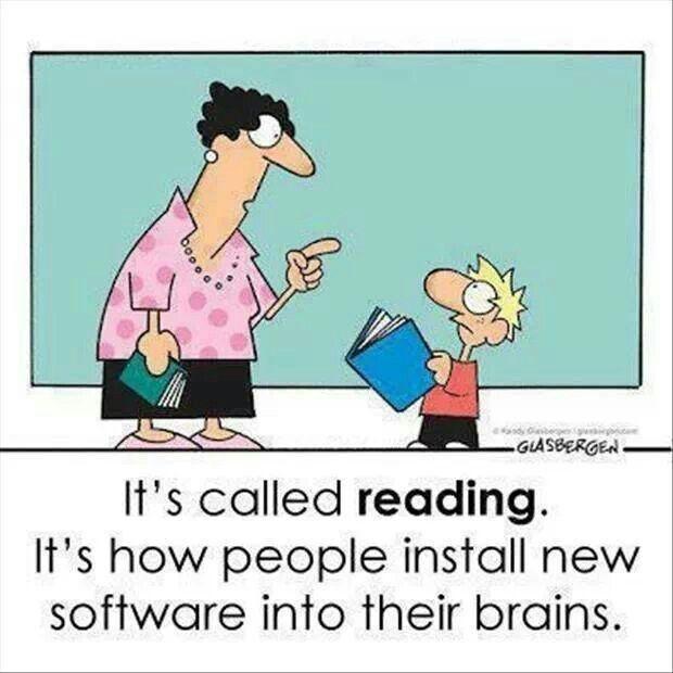 Reading, the forgotten art.