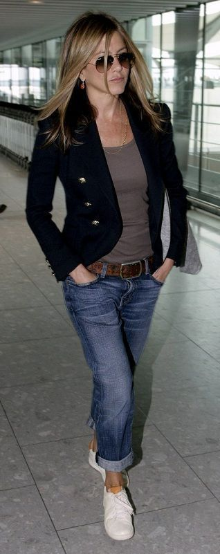 Casual Outfits For Women Over 40 With Blazer   Supernatural Style