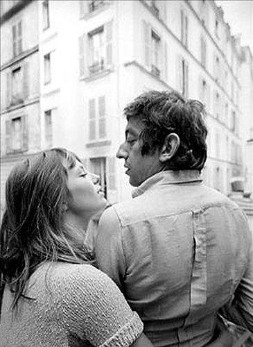 """""""La vie ne vaut d'être vécue sans amour""""  Serge Gainsbourg - La Javanaise   Birkin & Gainsbourg"""