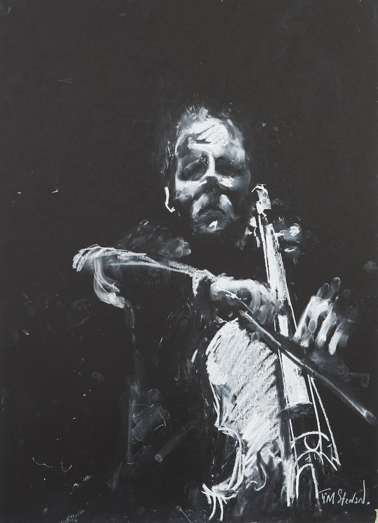 Junction Art Gallery - Tim Steward 'The Cellist' www.junctionartgallery.co.uk/exhibitions/future
