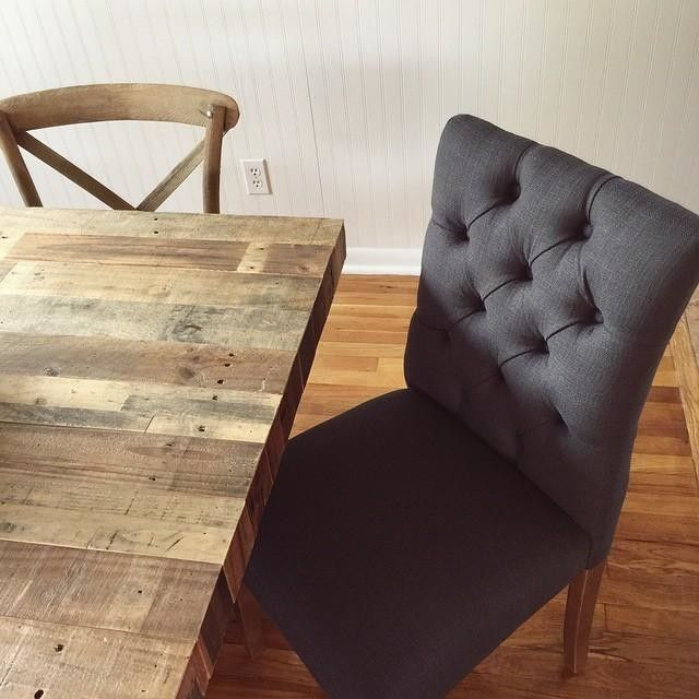 Slate Gray Dining Chairs From Target To Go With West Elm