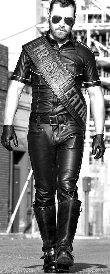 Mr San Francisco Leather.  #MrLeather #LeatherSF #LeatherUS