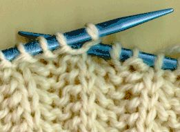 how to KNIT INTO THE STITCH BELOW (foundation for brioche stitch and many other patterns)