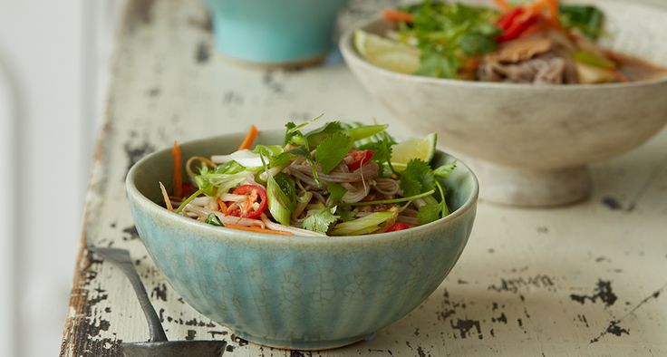 Chilli and Ginger Pho - quick and easy weeknight, low fat dinner