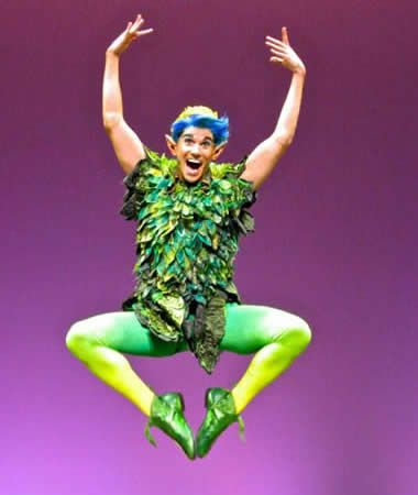 Chase Todd: Living the dream one performance at a time Peter Pan in Shrek