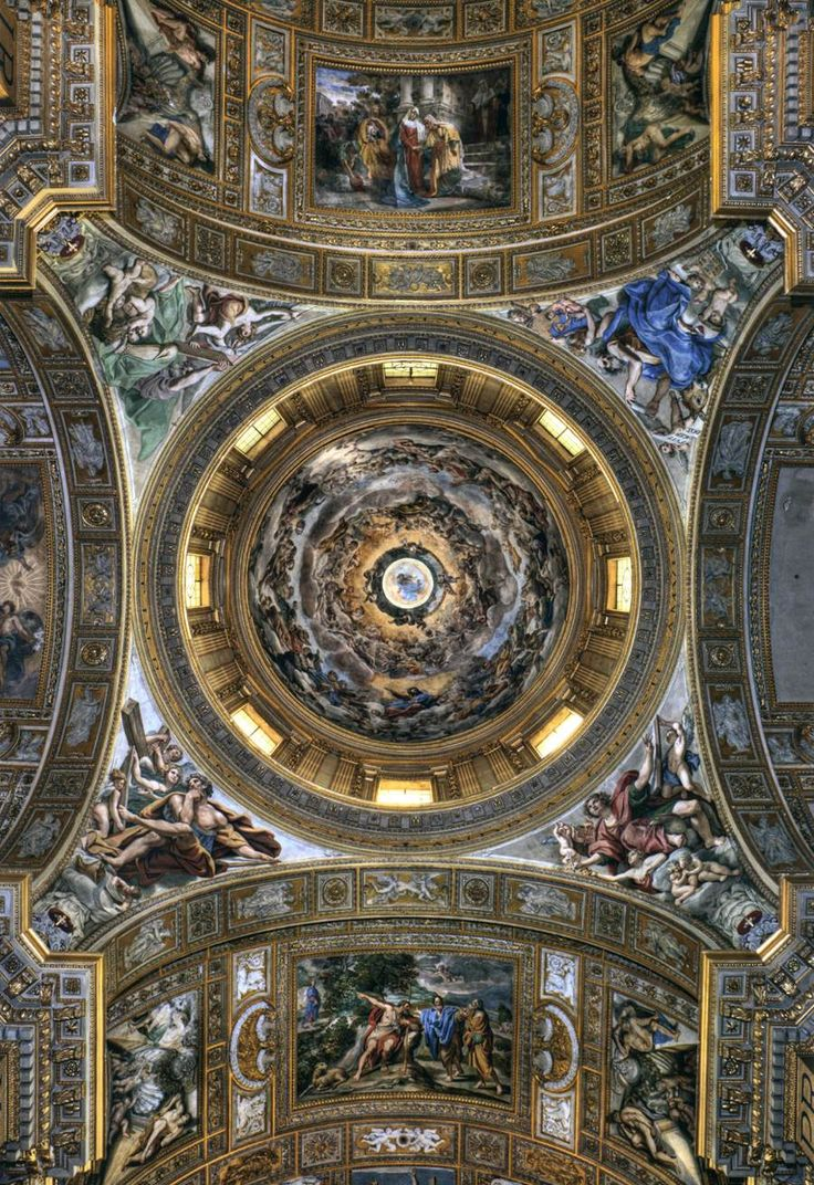 13 best rome baroque paintings lanfranco images on pinterest the fresco in the dome the assumption of our lady into the glories of paradise is by giovanni lanfranco this dome is the third highest in rome doublecrazyfo Gallery