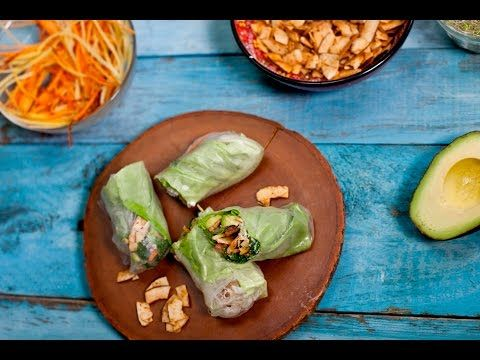 VIDEO: Smoky Coconut Chip Wraps - YouTube