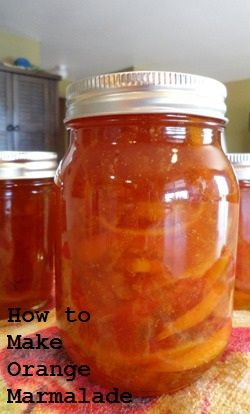 This orange marmalade recipe is very easy to make, and requires no added pectin.