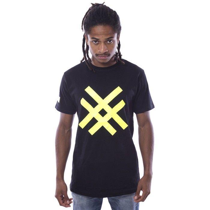 Camiseta Fluor Black-Yellow Negra - Camisetas - Hombre www.ebolet.com #ebolet #camiseta #urbana #street #chico