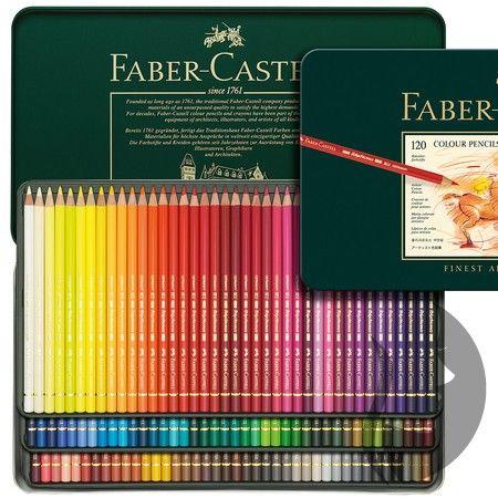Faber-Castell POLYCHROMOS - umělecké pastelky - sada 120 ks