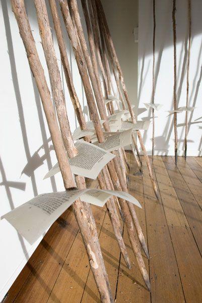 Bett Gallery Hobart - Julie Gough - Some words for change