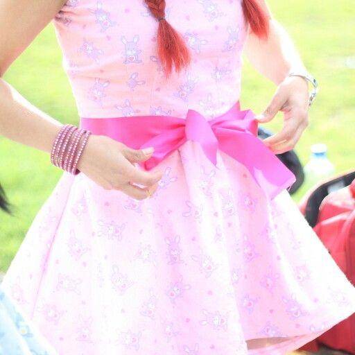 My beautiful pink dress