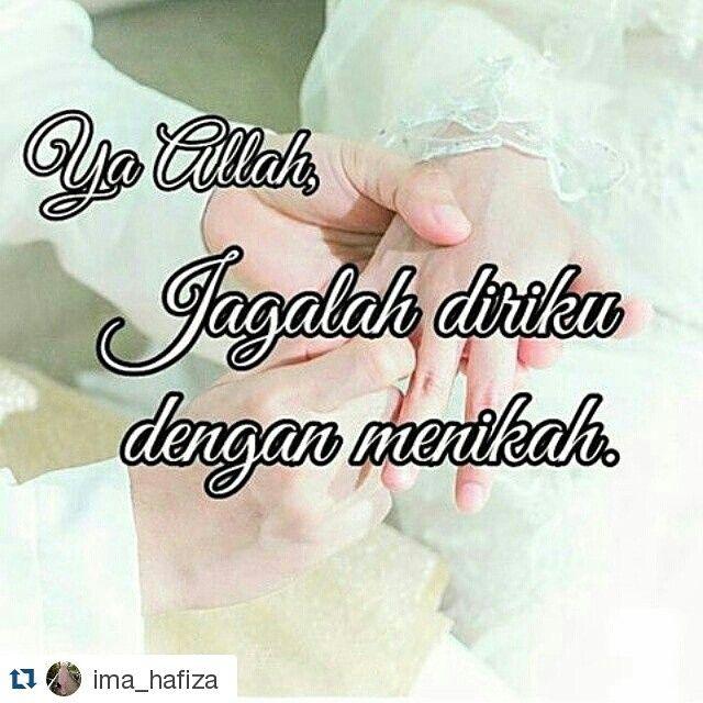 "Check for more information!.. http://goo.gl/v9KBj6 #Repost @ima_hafiza  #Repost @ifitrianty  MOTIVASI MENIKAH  Yang lagi galau ingin segera menikah. (yang nulis jg lg galau) ""Dan nikahkanlah orang-orang yang sendirian di antara kamu dan orang-orang yang layak (menikah) dari hamba sahayamu yang lelaki dan hamba-hamba sahayamu yang perempuan. JIKA MEREKA MISKIN ALLAH AKAN MENGKAYAKAN MEREKA DENGAN KARUNIANYA. Dan Allah Maha Luas (pemberianNya) dan Maha Mengetahui."" (QS. An Nuur : 32). Ada 3…"