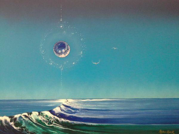 Title: PEACE Artist: RAINER H. KOZIK  Web: www.kozikart.com