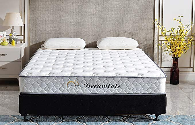 Dreamtale 8 Inch Memory Foam Innerspring Mattress Queen Review Mattress Queen Mattress Innerspring Mattresses
