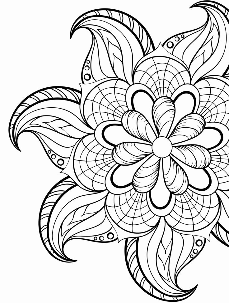 Free Hard Coloring Pages Thaifree Coloring in 2020