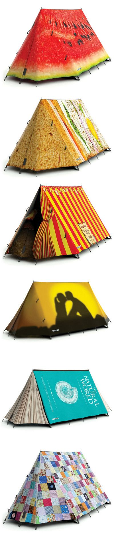Funny Tents: FieldCandy tents are made to be remarkably easy to put up, and with very little practice it should take less than five minutes  FieldCandy tents are significantly larger than most two person tents, making for a more comfortable and spacious sleeping area.