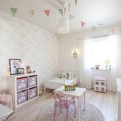 Ideas para decorar habitaciones de ni as decoraci n - Habitaciones bebe pequenas ...