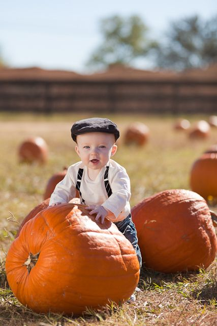 pumpkin patch photo ideas - Can t wait to take pictures of my little man in a pumpkin