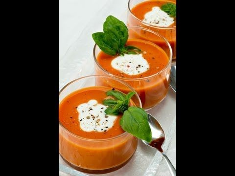 Easy to make recipe of Tomato Soup by Master Chef Sanjeev Kapoor