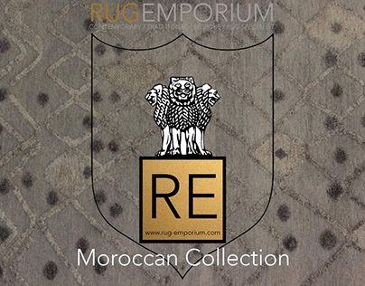"""Check out new work on my @Behance portfolio: """"Moroccan rugs by RUG-EMPORIUM"""" http://on.be.net/1S8Xv8o"""