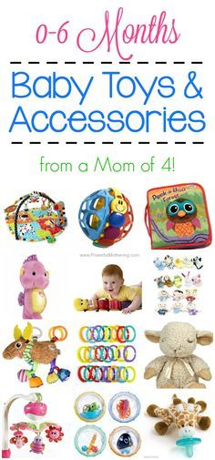 Baby Toys & Accessories for 0-6 Months