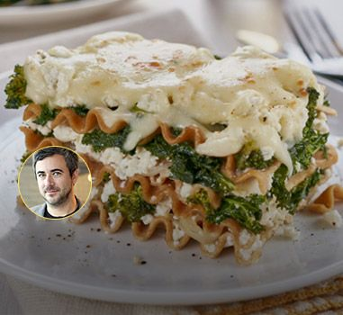 Mozzarella Lasagne with Kale, Broccoli, Ricotta and Sweet Onions: Would you like to try one of Chef Martin Juneau's fantastic recipes? He's taken over Catelli's kitchen for this delicious recipe.