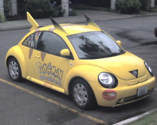 Great Adorable Pikachu Beetle Is Adorable