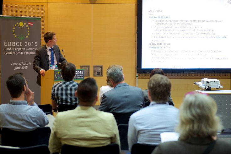 Vienna, 1-4 June 2015, 23rd European Biomass Conference and Exhibition: