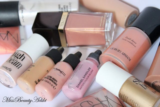 M I S S B E A U T Y A D I K T: The Low Down On Liquid Highlighters