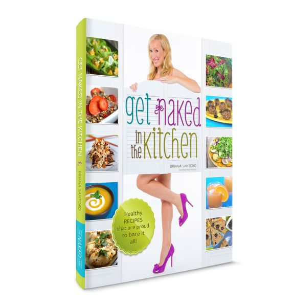 Enter to win a copy of the recipe book, Get Naked in the Kitchen (CAN only) ends 5/20 http://domesticatedmomma.com/2014/04/goat-cheese-dip.html