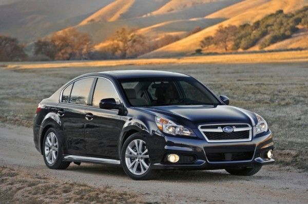2013 Subaru Legacy Release 600x397 2013 Subaru Legacy Review, Performance, Quality, Safety, Features, etc