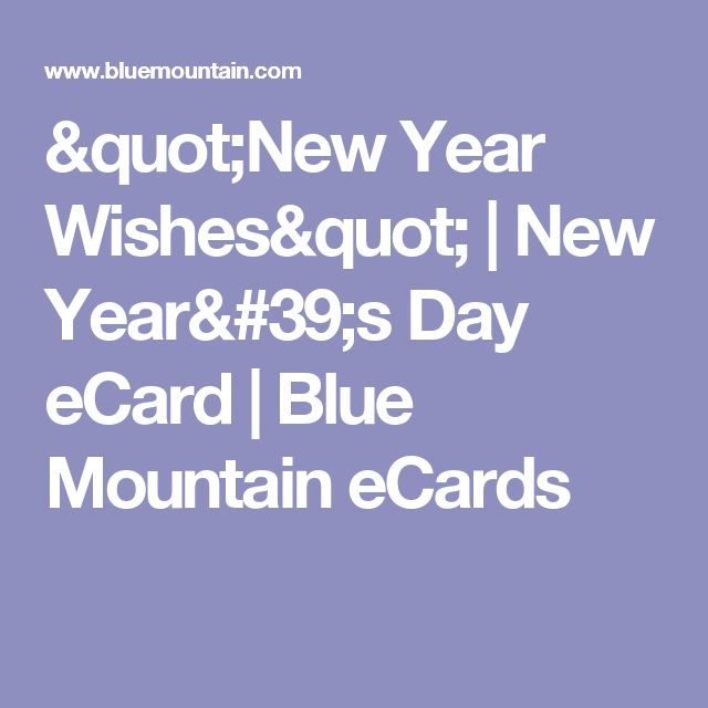 """""""New Year Wishes"""" 