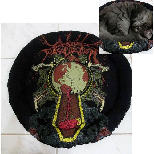 Cattle Decapitation Band Shirt Cat Bed DIY Death Metal