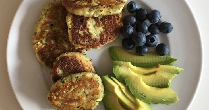 Great recipe for Low carb Courgette fritters.
