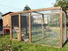 Cómo hacer un gallinero en tu jardín - http://www.jardineriaon.com/como-hacer-un-gallinero-en-tu-jardin.html #plantas