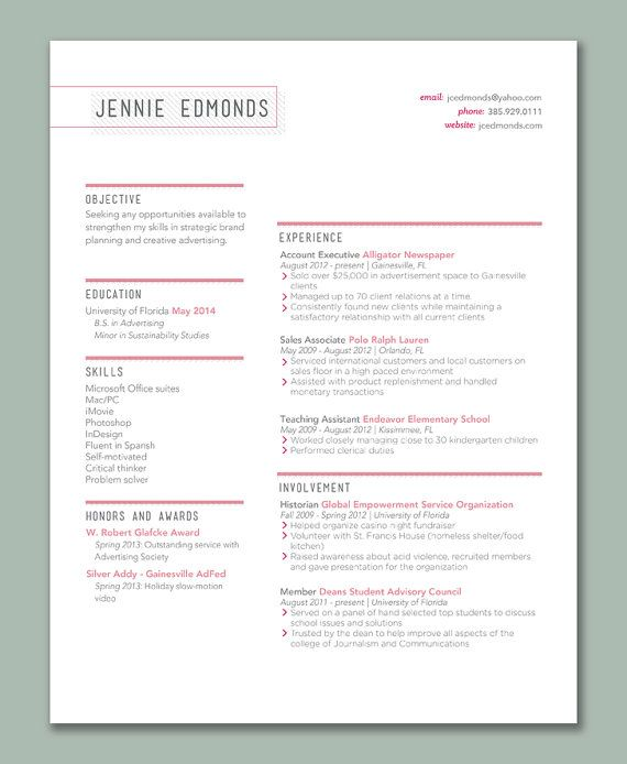 13 best cv images on Pinterest Design resume, Resume and Resume - resume names