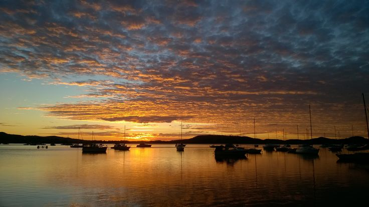 Winters morning Sunrise, Gosford NSW