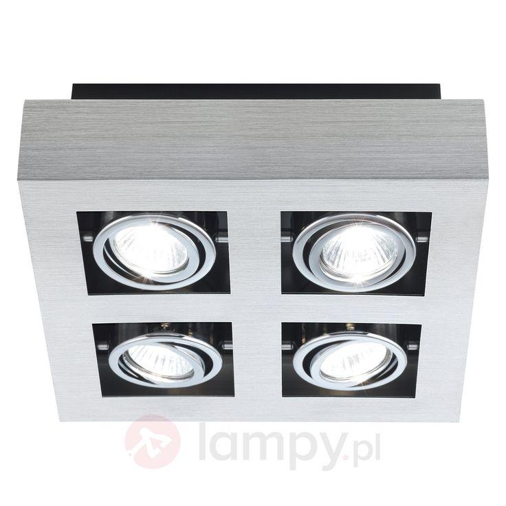 Funkcjonalna lampa sufitowa Luke bezpieczne & wygodne zakupy w sklepie internetowym Lampy.pl.