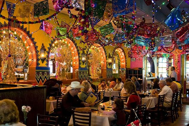 Lunch today: Mi Tierra, Market Square, San Antonio. The decorations are fabulous!