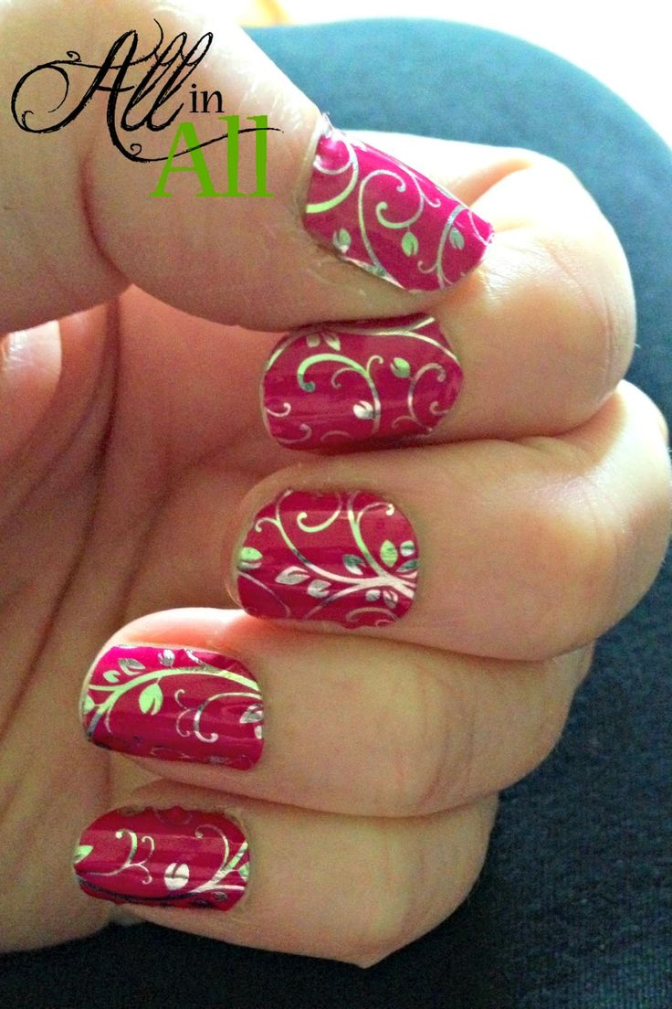 I tried Jamberry nails and wrote this post to tell you what I thought of them!