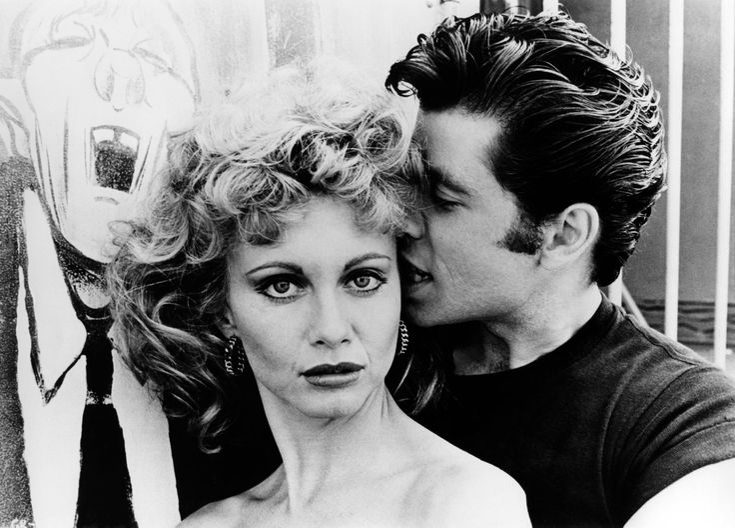 "Olivia Newton-John et J.Travolta - ""Grease"" - 1978"