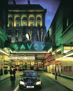 Savoy Hotel, London............had high tea with new friends