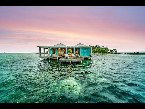 VillaMatch: Cayo Espanto Belize; reconnect with your senses - YouTube