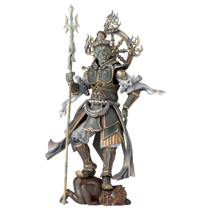 The next upcoming Buddhist heaven and hell demon action figures.